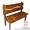 Мебель для комнаты отдыха бани,  Скамейка под старину #1222692