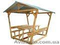 Альтанки для дому та дачі деревяні