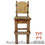 Купить деревянные барные стулья, Стул барный под старину - Изображение #2, Объявление #1222694