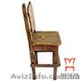 Купить деревянные барные стулья, Стул барный под старину - Изображение #3, Объявление #1222694
