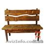 Мебель для комнаты отдыха бани, Скамейка под старину - Изображение #2, Объявление #1222692
