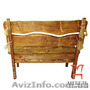 Мебель для комнаты отдыха бани, Скамейка под старину - Изображение #4, Объявление #1222692