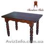 Купить стол кухонный деревянный, Стол 120 x 75 (4 ноги), Объявление #1212871