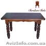 Купить стол кухонный деревянный, Стол 120 x 75 (4 ноги) - Изображение #2, Объявление #1212871