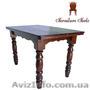 Купить стол кухонный деревянный, Стол 120 x 75 (4 ноги) - Изображение #4, Объявление #1212871