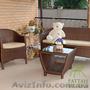 Стол из ротанга купить, Стол Белиссимо - Изображение #3, Объявление #1278881