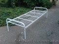 Ліжка металеві для гуртожитків,  металеве ліжко двоярусне,  ліжко металеве фото