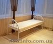 Ліжка металеві для гуртожитків, металеве ліжко двоярусне, ліжко металеве фото - Изображение #9, Объявление #1342407
