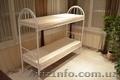 Ліжка металеві для гуртожитків, металеве ліжко двоярусне, ліжко металеве фото - Изображение #10, Объявление #1342407