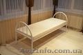 Ліжка металеві, двоярусні ліжка, металеве ліжко, металеві ліжка, ліжко двоярусне - Изображение #6, Объявление #1444631