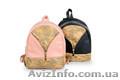 Городской стильный ,кожаный рюкзак - для модных женских образов  - Изображение #2, Объявление #1563318