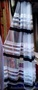 Тюль в полоску на фатине. Цвет черный, шоколадный. Турция., Объявление #1611120